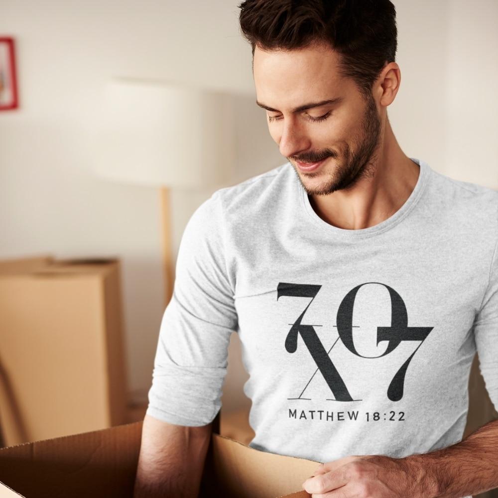 Forgive 70 Times 7 Matthew Christian Long Sleeve T Shirt