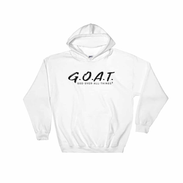 God Over All Things White Hoodie