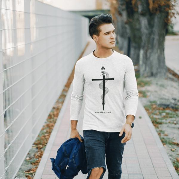 Faith Christian Serpent Of Faith Long Sleeve T Shirt