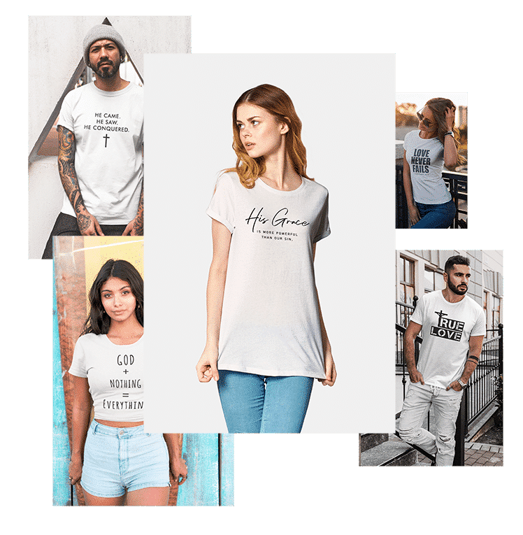 Christian Clothing & Apparel, HOME, Fabrics Of Faith